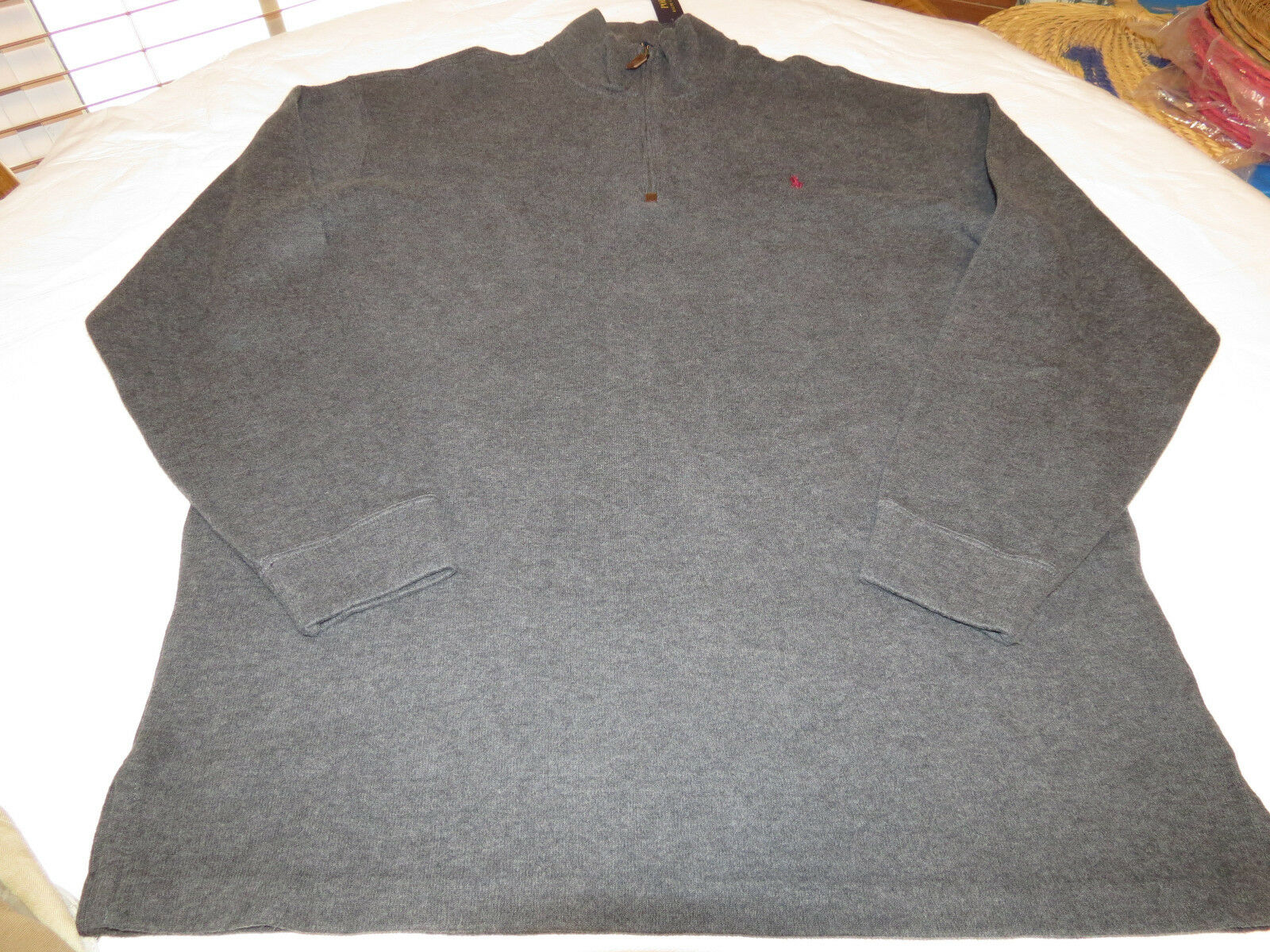 Polo Ralph Lauren sweater pull over shirt Big & Tall XLT TALL Mens 71152399 4009