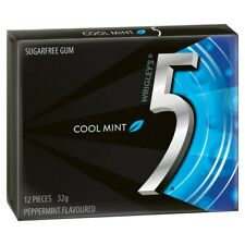 5 Gum Cool Mint Chewing Gum Stick 32g