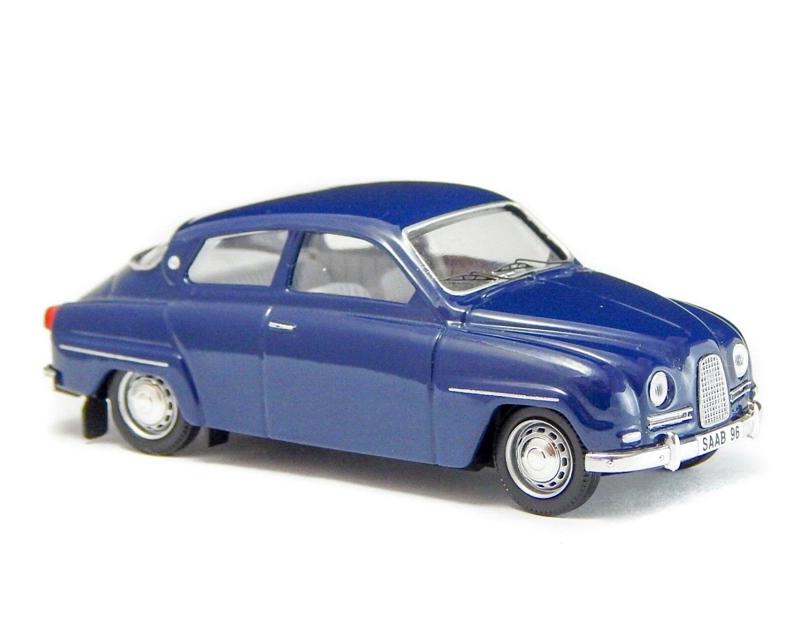 1961 Saab 96 De Luxe Blau 1 43 Trofeu Portugal Vintage Model Car
