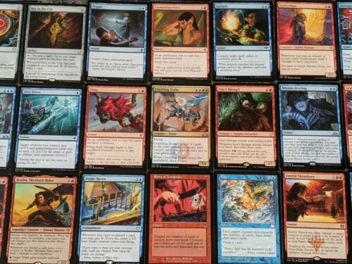 Wheels MTG EDH Magic Cards the Everwise ***Custom Commander Deck*** Rielle