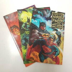 Legends-of-the-World-039-s-Finest-Complete-Set-of-3-1-3-VF-NM-Prestige-Format
