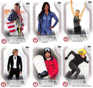 2018-Topps-Winter-Olympics-Team-USA-Base-Cards-Choose-039-s-US-1-48-USA-1-45