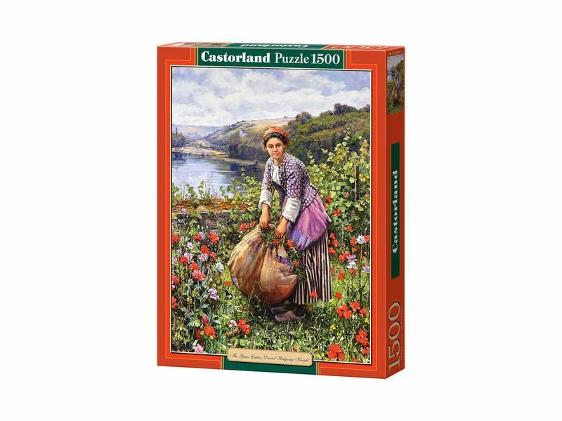 Castorland Puzzle 1500 Pieces - The Grass Cutter - 27 x18.5  Sealed box C-151004