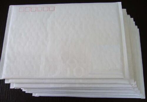 25 BULK BUY 225 x 150mm White Bubble Padded Bag Post Courier SMALL Envelope