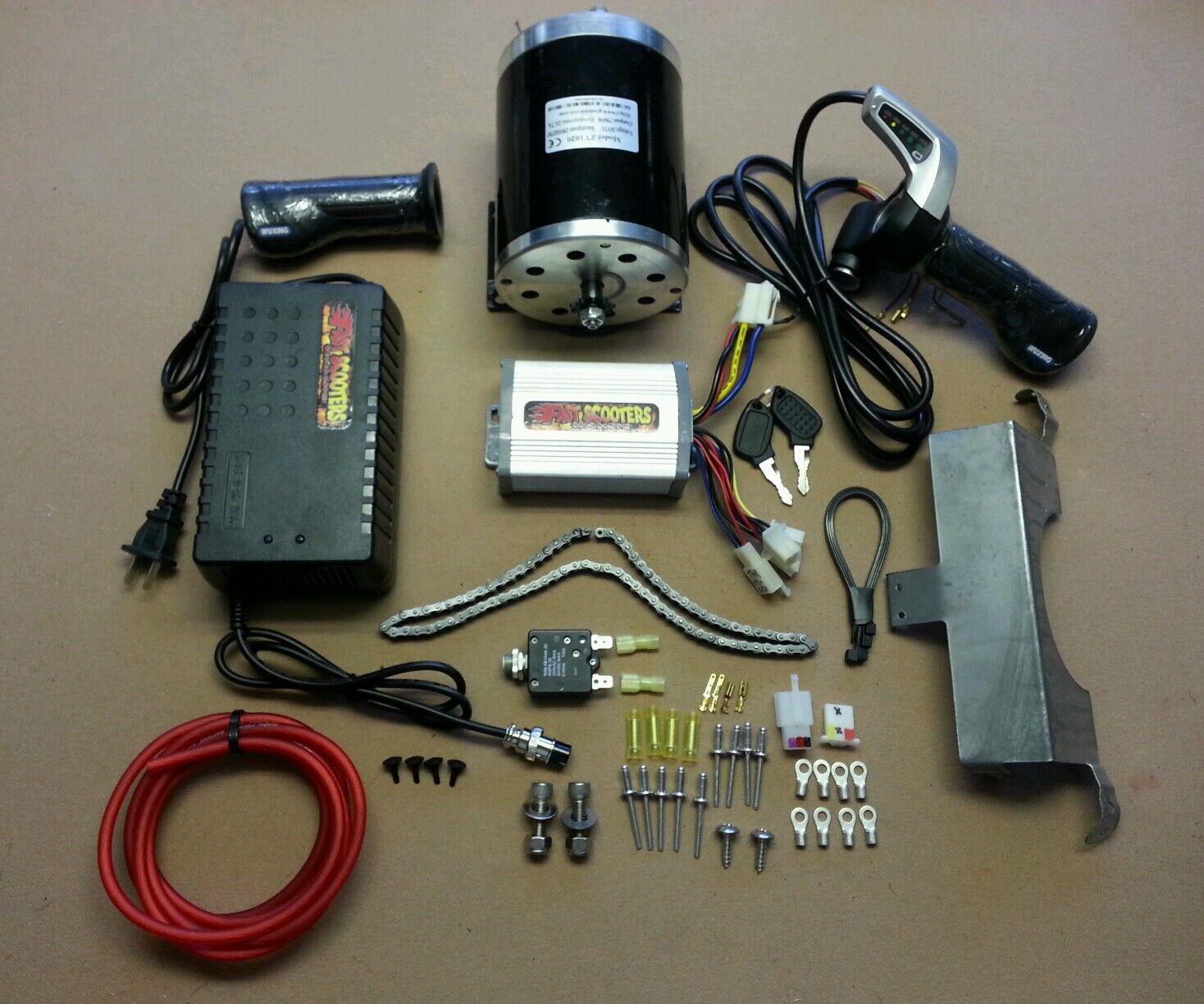 Cruzin Cooler Upgrades-Super 48 V ou 48 V 1000 W Kit Conversion-look