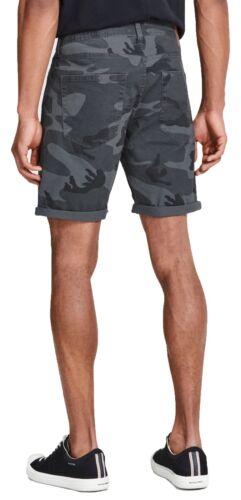 JACK /& JONES Rick Mens Stretch Shorts Cotton Summer Half Pants Smart Chino Short