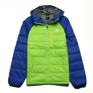 Adidas Padded Feather Down Jacket Ultra Warm 2MB Winter Jacket Genuine
