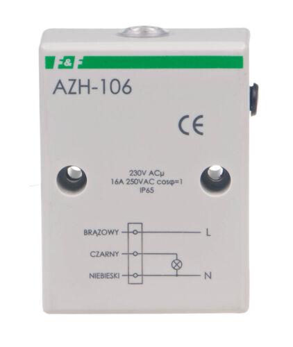 F/&f Crépuscule Commutateur azh-106 230 V avec interne capteur de lumière éclairage Lumière
