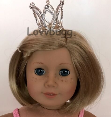 """Amazing Tiara or Crown for American Girl 18/"""" Doll Accessory or 14/"""" Wellie Wisher"""