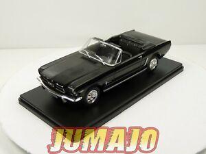 VQ42 Voiture 1/24 SALVAT Models : FORD MUSTANG cabriolet 1965