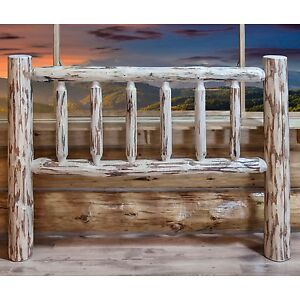 Awesome Details About Rustic Log Headboards Lodge Cabin Head Boards Amish Made Furniture Beds Short Links Chair Design For Home Short Linksinfo