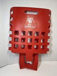 Vintage University of Alabama Crimson Tide Football Stadium Seat Bleacher 1981