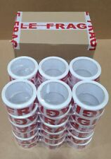 36 Rolls Fragile Heavy Duty Packing Tape 27 Mil 2 X 60 Yards