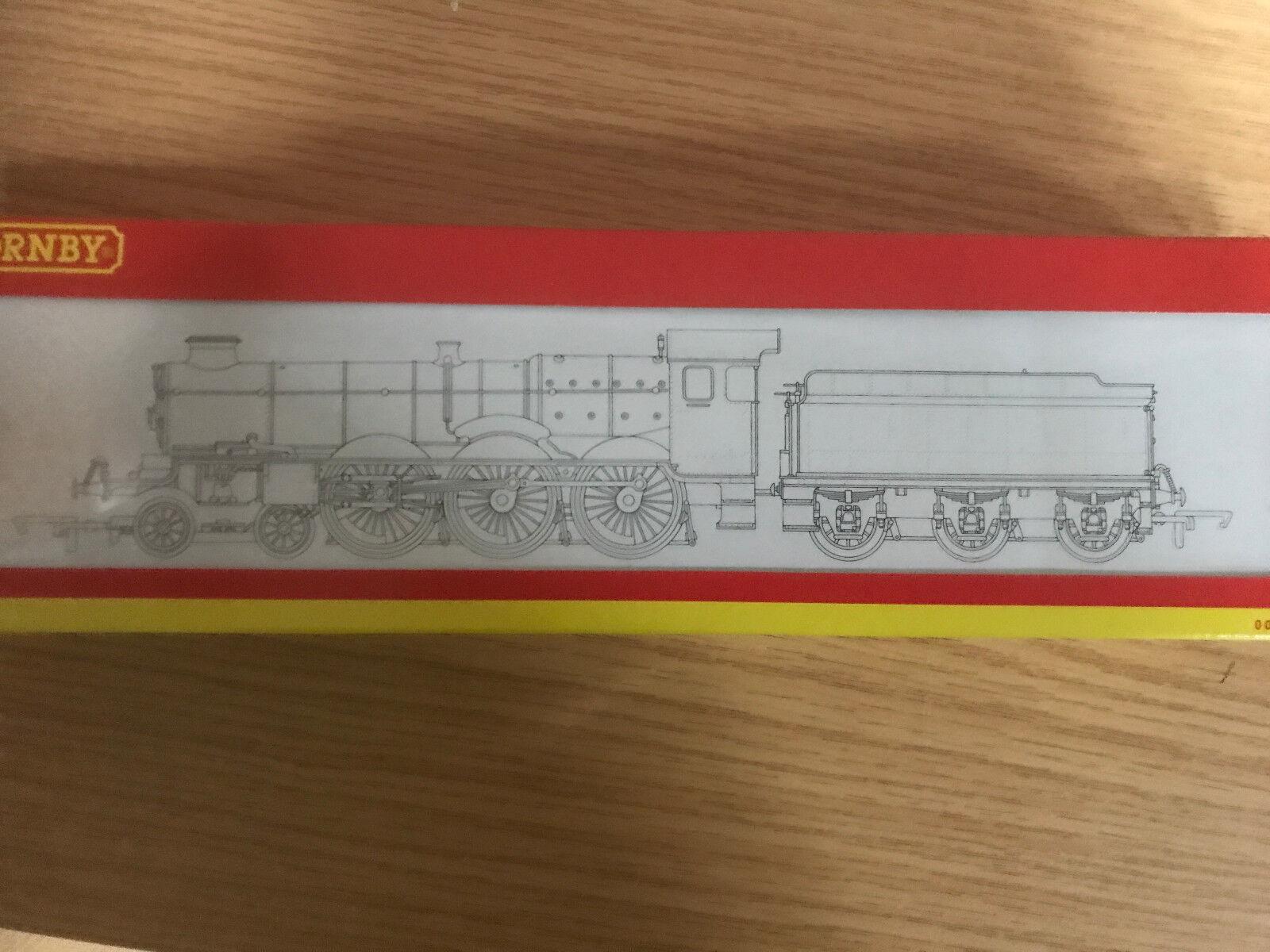 Hornby R2424 castle class loco 5074 hampden castle