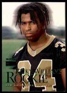 1999 SKYBOX PREMIUM RICKY WILLIAMS RC NEW ORLEANS SAINTS #212