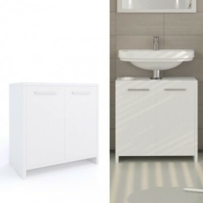 Mobile Bathroom Under Basin Sink copricolonna Cabinet 2 door   eBay