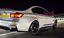 BMW M3 M4 de fibra de carbono alerones de parachoques trasero-F80 F82 F83-divisores De Parachoques