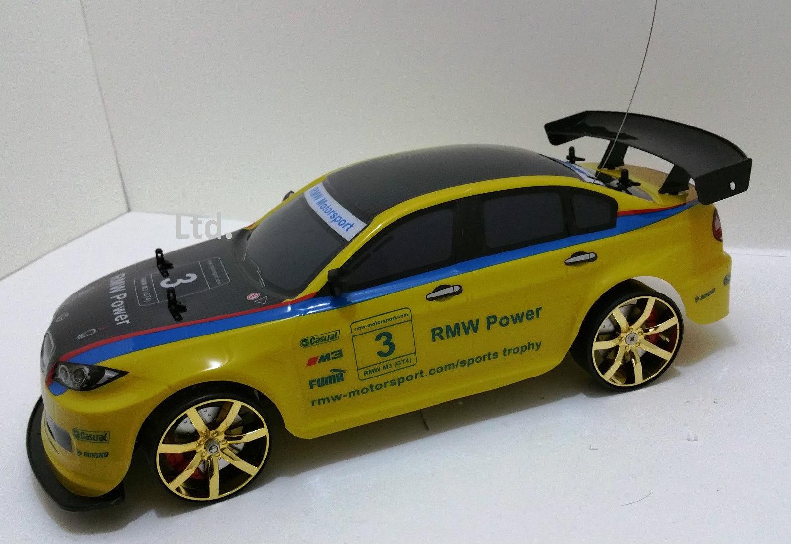 Bmw M3 4wd 4wd 4wd Drift Radio Control Remoto Auto 1 10 + Gratis nuevos neumáticos rápida velocidad rápida  hasta 42% de descuento