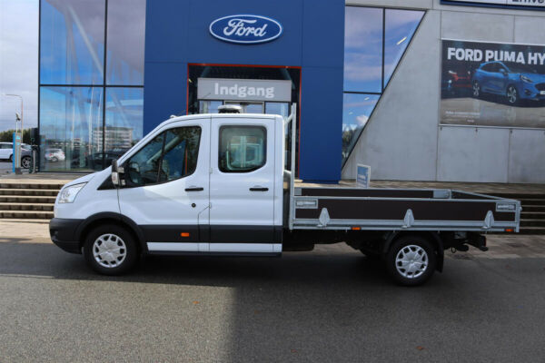 Ford Transit 350 L3 Chassis 2,0 TDCi 170 Db.Kab Trend FWD - billede 1