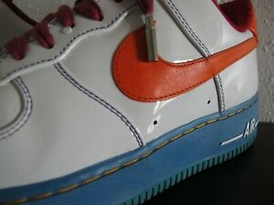 NIKE AIR FORCE 1 LOW iD SIZE 9 FRUITY