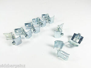 image is loading inset kitchen sink fixing bracket clamps stainless steel - Kitchen Sink Clips