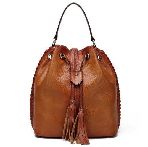 Chantel Leather Msrp175 à Vicenzo Sac seau dos b6Yfy7g