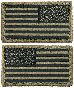 US Army OCP Scorpion Camo USA Flag Patch for Uniform Hook Backing ... cdb387b6dd8