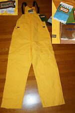 REMINGTON GORETEX FOUL WEATHER FISHING BIB OVERALLS new old stock MINT COND LRG