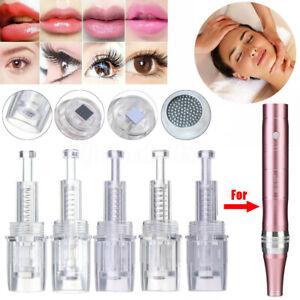Anti-vieillissement-peau-aiguilles-micro-stylo-Derma-automatique-electrique-A