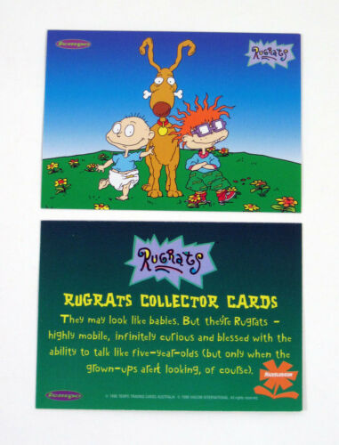 1997 Tempo Rugrats Promo Card Set Nm//Mt 4