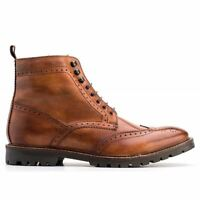 Base London Troop Washed Tan Mens Boots