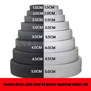 White-amp-Black-Flat-Elastic-Band-Lingerie-Ribbon-Trim-DIY-Sewing-Dress-Making