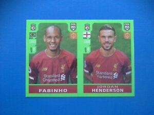 Figurine-Panini-Fifa-365-2019-20-2020-n-32-Fabinho-Henderson-Liverpool
