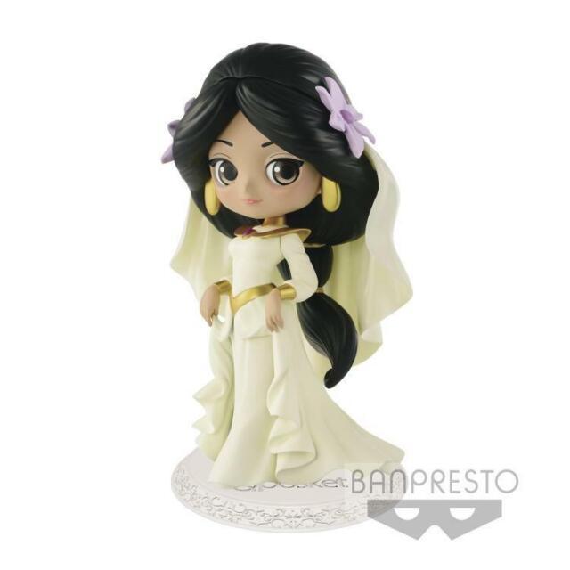 Banpresto Q Posket Disney Characters Figure Aladdin 1992 Princess Jasmine