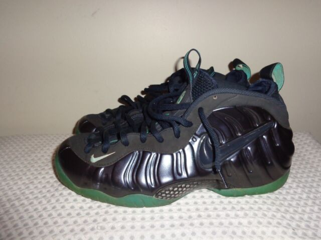 d29c2f71c63d Nike Air Foamposite Pro PRM Obsidian Blue 624041-402 Black Aqua Light sz 12  EUC