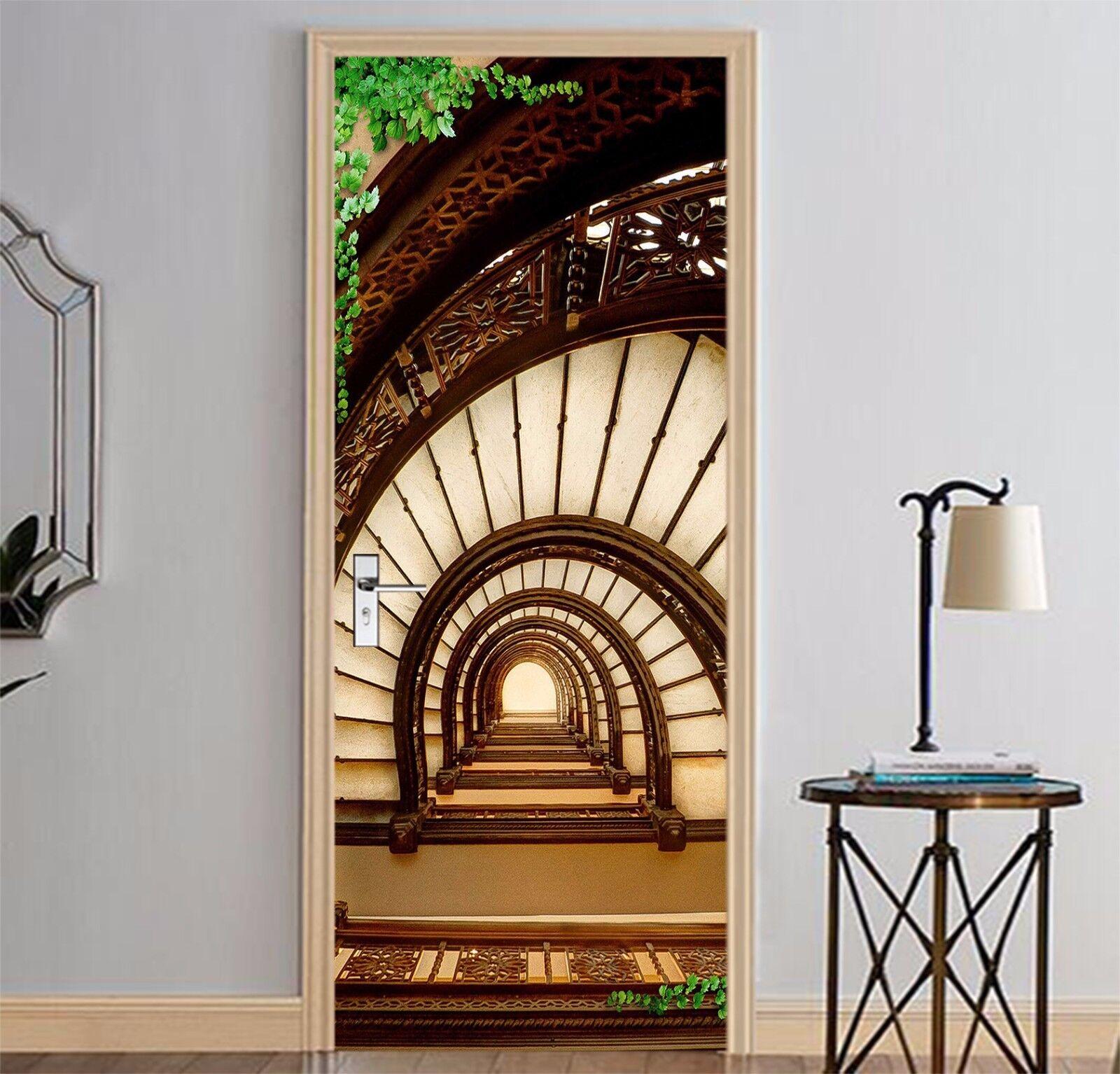 3D Bogen 89 Tür Wandmalerei Wandaufkleber Aufkleber AJ WALLPAPER DE Kyra | Haltbarkeit  | Meistverkaufte weltweit  | Elegant