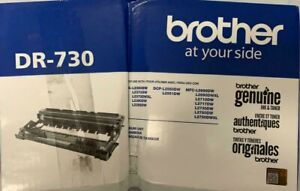 New, Brother Genuine Drum Unit DR730 Yields Up to 12,000 Pages, Package Not Good