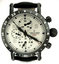 New Men Chronoswiss Timemaster CH7533  GMT Auto 44mm Watch Box Papers