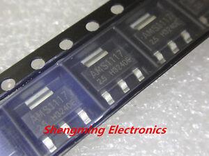 100PCS-AMS1117-2-5-AMS1117-LM1117-1117-2-5V-Voltage-Regulator-SOT-223