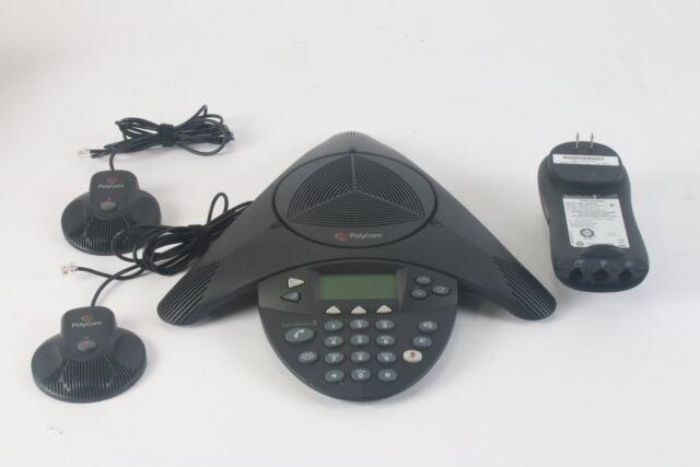 Polycom SoundStation 2 Digital Conference Phone W/ 2x: 2201-07155-605 Microphone