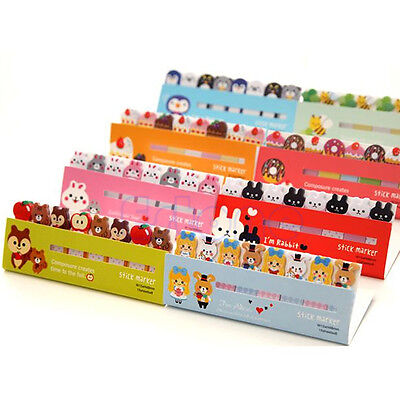 Funny Animals Sticker Post-it Bookmark Marker Memo Index Sticky Note 120 Pages