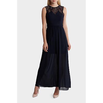 NEW Tokito Collection Lace Maxi Dress Dark Navy