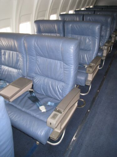 Airplane Double Business Class Seat From a VIP Aircraft