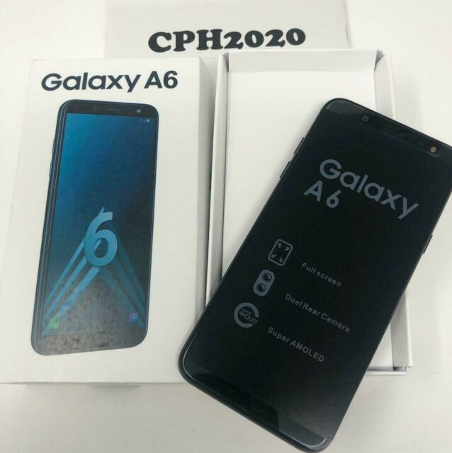 Samsung Galaxy A6 2018 A600fn DS 32gb/3gb Unlocked Smartphone Black TT