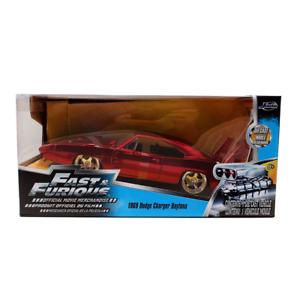 Jada-Toys-Fast-amp-Furioso-Dom-039-s-Dodge-Charger-Daytona-coche-fundido-a-troquel-escala-1-24