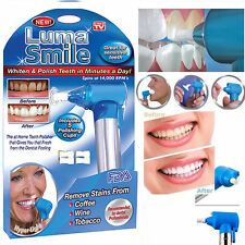 NEW LUMA SMILE Tooth Polish Polisher Whitening Whitener White Teeth USA SELLER!!