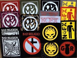 PENYWISE-NOFX-patches-GOOD-RIDDANCE-BOUNCING-SOULS-punk-hard-core