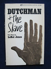 DUTCHMAN and THE SLAVE - TWO PLAYS by LEROI JONES 1st Edition Paperback