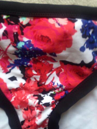 Black Multi Bikini With Removable Pads BNWT M/&S Ladies Size 14