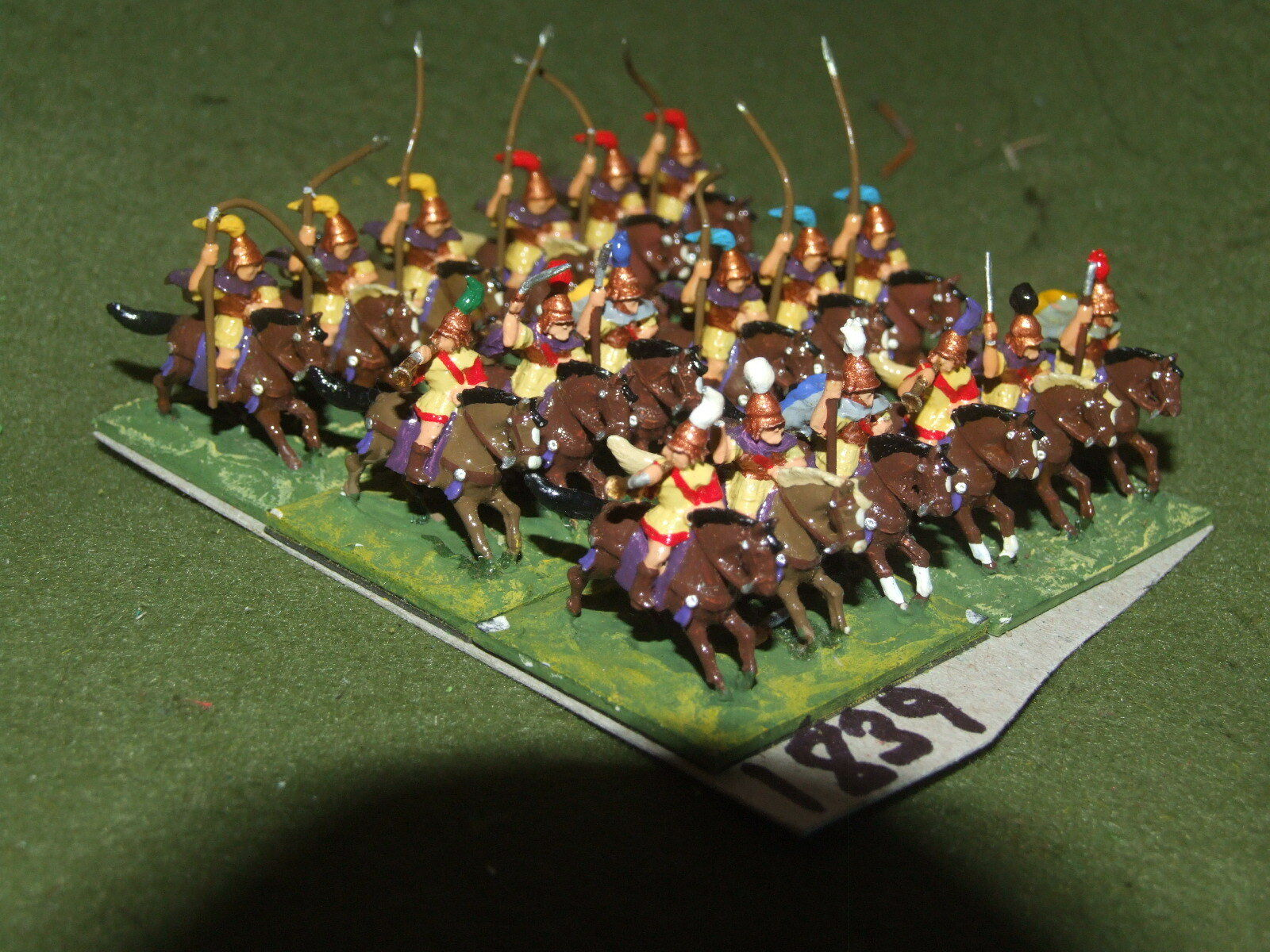 15mm classical   macedonian - 18 Cavalry - cav (A1839)